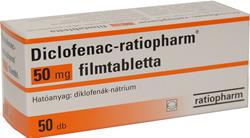 Kockázatos fájdalomcsillapító a Diclofenac