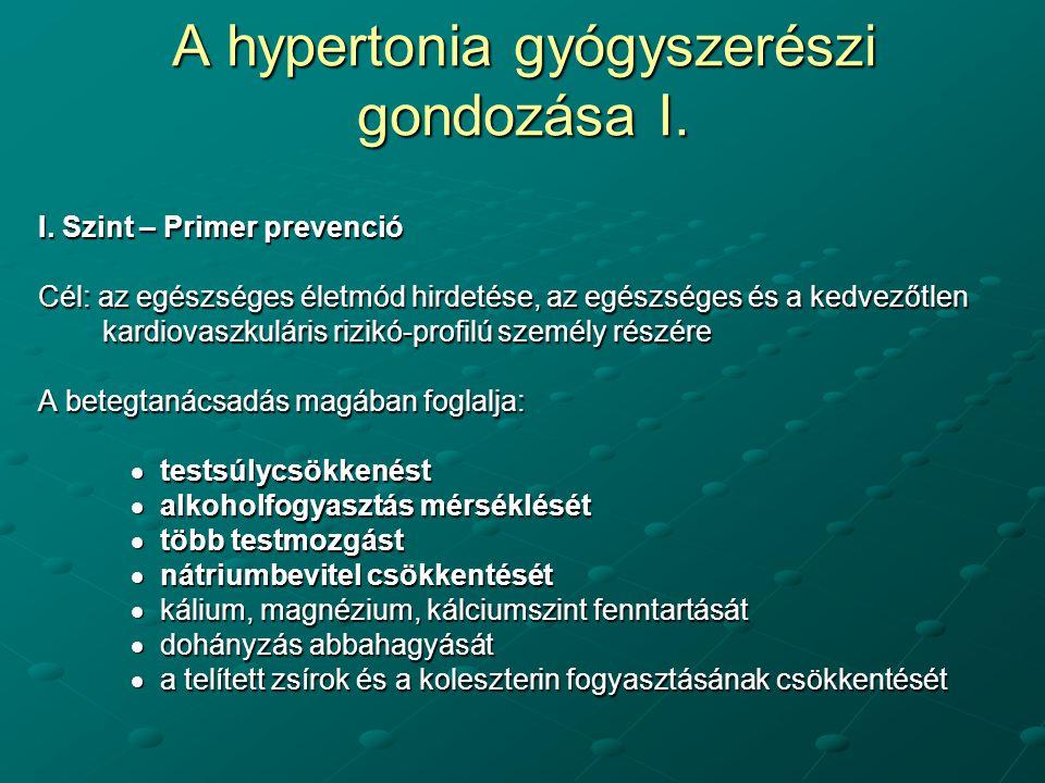 vaszkuláris hipertónia gyógyszerek