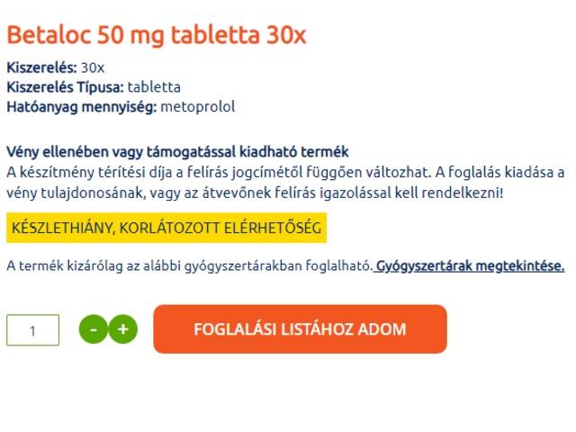 hipertónia a gyógyszertárakban édes magas vérnyomás esetén