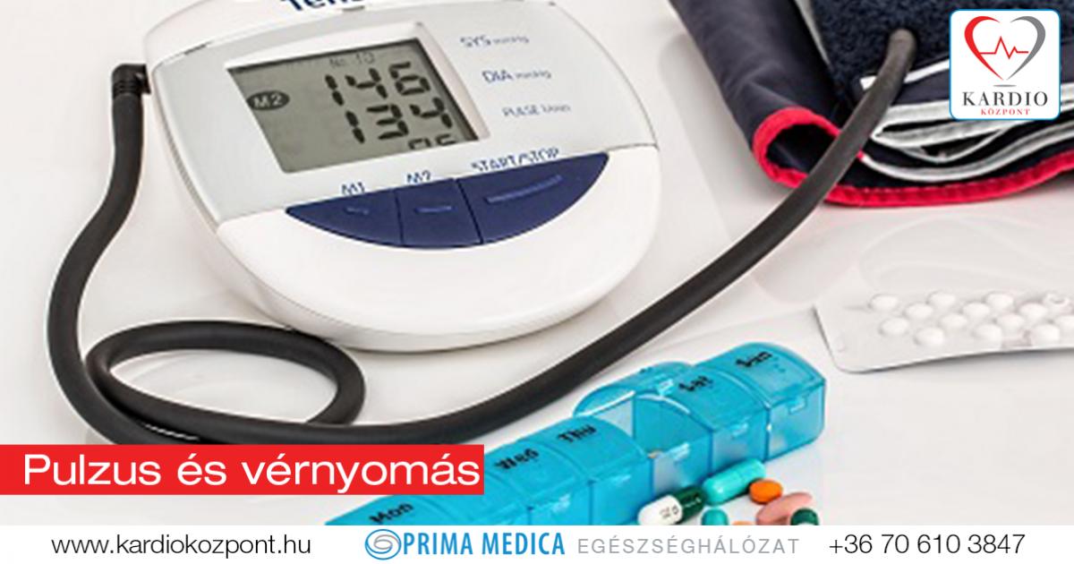 vaszkuláris pulzus magas vérnyomással magas vérnyomás kezelésére szolgáló információs oldal