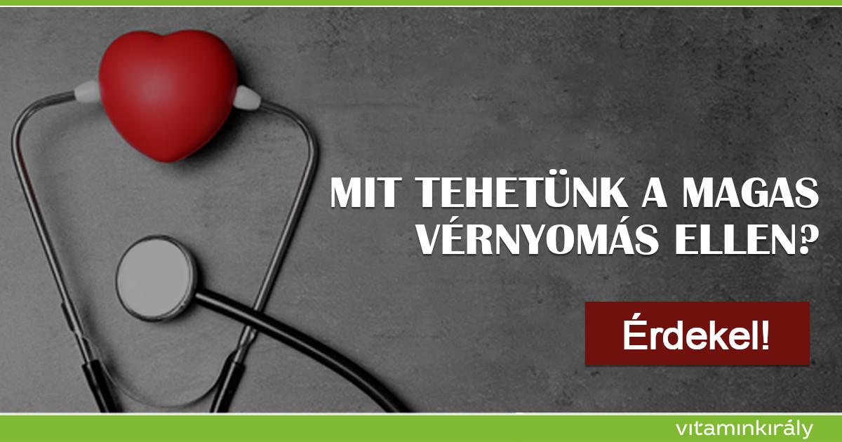 magas vérnyomás elleni solgar