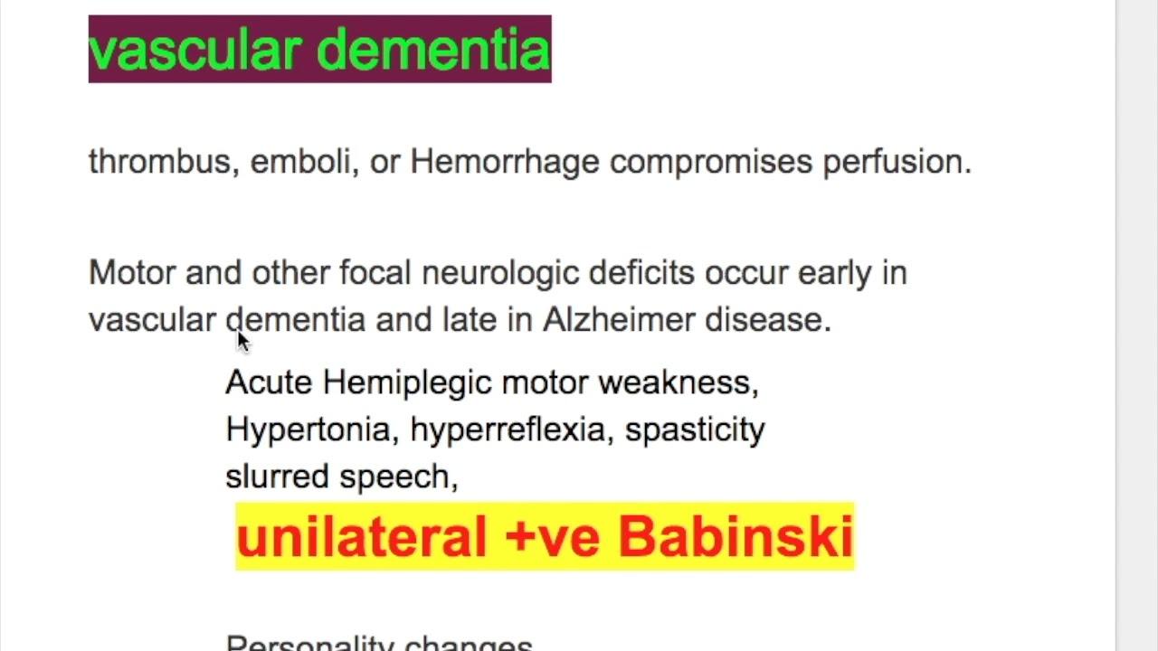 demencia hipertónia jód a magas vérnyomás kezelésére