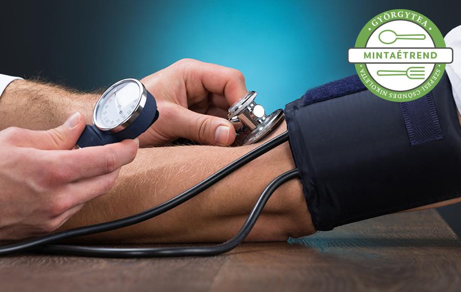 A magas vérnyomás kezelésének 3 foka