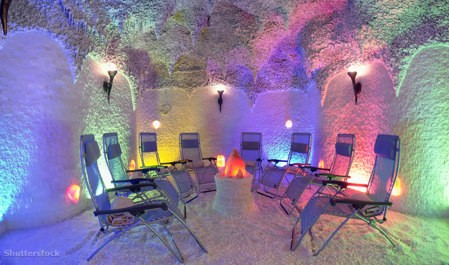 látogatás a sóbarlangban magas vérnyomás miatt