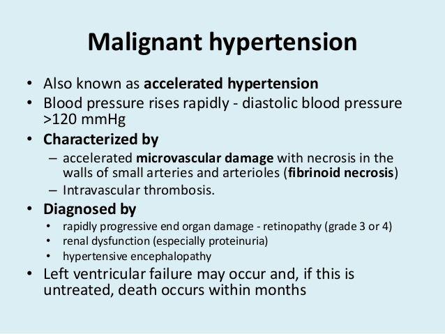 magas vérnyomás proteinuriával