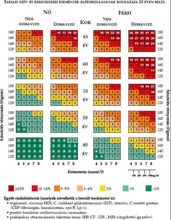magas vérnyomás és annak káros hatásai
