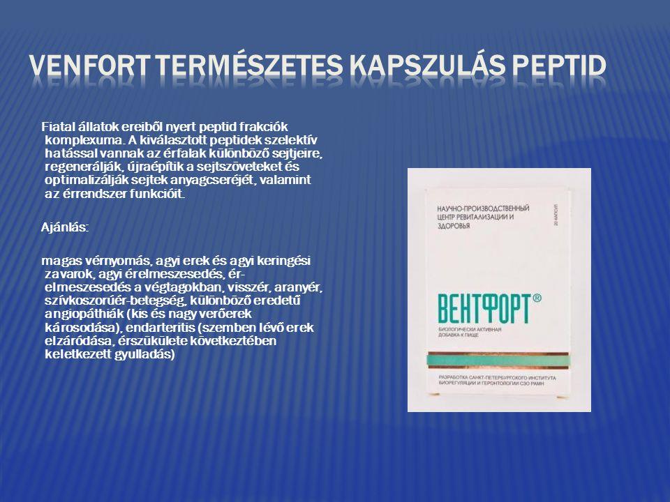 magas vérnyomás elleni peptidek